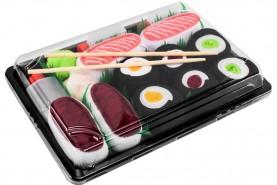 Sushi skarpetki 5 par, kolorowe bawełniane skarpety dla niej i dla niego, produkt uniseks