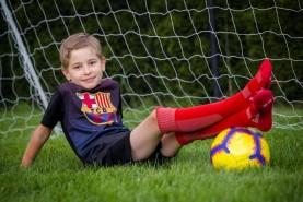 Knee High Football Soccer Socks for Children