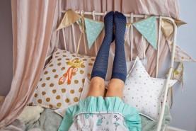 Długie skarpetki podkolanówki ażurowe dla Twojego dziecka