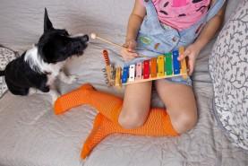 Kolorowe i wygodne podkolanówki ażurowe dziecięce, skarpetki bawełnianie