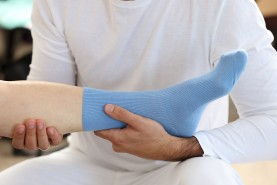 Diabetic Non-Elastic Cotton Uniseks Socks
