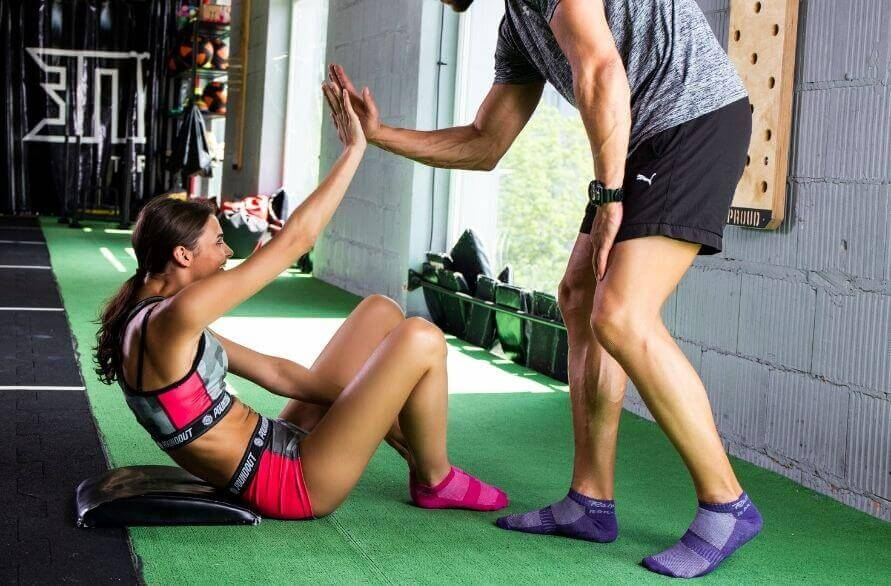 Crossfit – what you need is a training buddy.