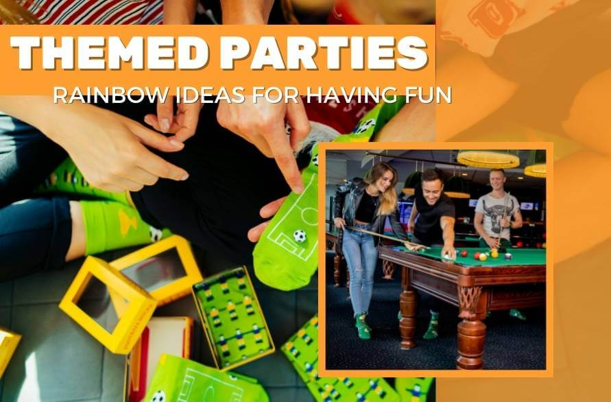 Squad goals! Themed parties and games.